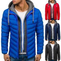 Malltop Mens Autumn Winter Plus Size Windproof Jacket Coat Casual Solid Color Roll Collar Zipper Shirts Tops Blouse