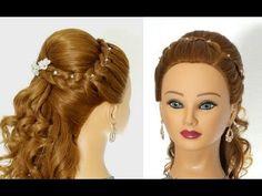 Прическа на выпускной в греческом стиле. Prom Greek Goddess Hairstyle