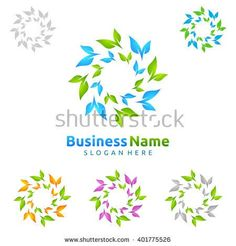Infinity green leaf of recycle ecology vector logo design 5 - Green Trees, Green Leaves, Vector Logo Design, Ecology, Logos, Recycling Logo, Logodesign, Infinity, Royalty Free Stock Photos
