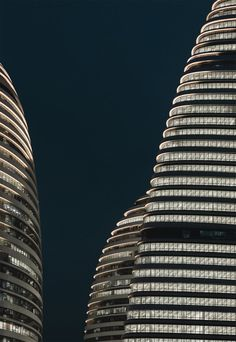b0b1d70a68d Wangjing Soho - Architecture - Zaha Hadid Architects Facade Lighting