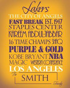 Los Angeles Lakers <3