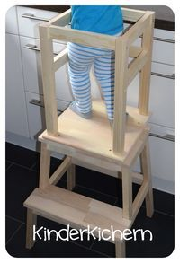 KinderKichern: Anleitung für einen Learning Tower You are in the right place about Montessori selbstgemacht Here we offer you the most beautiful pictures about the Montessori ikea you are looking for. Learning Tower Ikea, Baby Learning, Kidsroom, Anton, Kids And Parenting, Diy For Kids, Diy Furniture, Baby Kids, Sweet Home