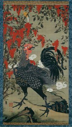 Ito Jakuchu at the National Museum of Art