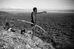 The Hadzabe, or Hadza, are one of the last tribes of hunter-gatherers in the world. They live around Lake Eyasi and the Serengeti Plateau in Tanzania and number 1000-2000, although just 300-400 still live a traditional lifestyle. They were once thought to be related to the San of southern Africa, but modern genetic studies link them to the pygmies of west and central Africa.