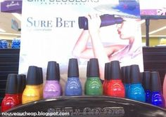 Spotted: New Sinful Colors Sure Bet display