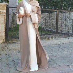 Modesty Fashion, Abaya Fashion, Cardigan Fashion, Islamic Fashion, Muslim Fashion, Eid Outfits, Fashion Outfits, Womens Fashion, Moda Hijab