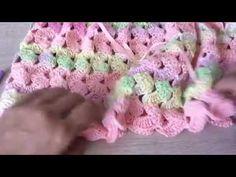 Vestídito Paula fácil y rápido tejido en gancho - tejiendo con Laura Cepeda - YouTube