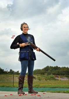 Charlotte Kerwood Shooting Sports, Team Gb, Cowgirls, Hunters, Olympics, Charlotte, Olympic Shooting, Shooting Sport, Western Boot