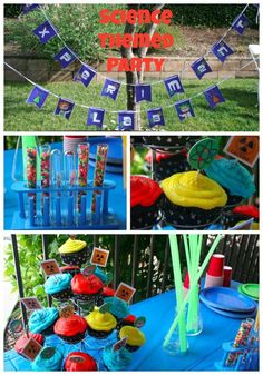 Science Themed Birthday Party