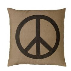 Bloomingville pillow peace