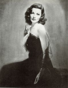 """The most prized prop painting in cinema history, a portrait of Gene Tierney from """"Laura"""", wasn't a painting at all, but an enlarged photograph that was painted over. If it were ever to be sold, the value would compare to that of the famous ruby slippers from The Wizard of Oz."""
