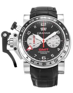 Graham Chronofighter Oversize GMT - Steel 2OVGS.B39A.C118S - Product Code 41416