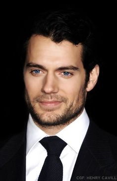 Henry Cavill. He just looks hotter with facial hair!