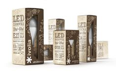 special ECO boxes for ivolia #LED bulbs.