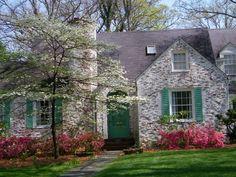 Whitewashed brick | Brick exterior house, White wash brick