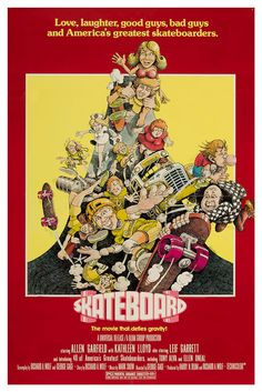 Skateboard The Movie is a 70s cult classic that is a real curiosity piece for skaters.