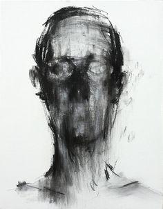 Charcoal on Canvas 2013 by KwangHo Shin
