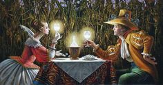 Delighted by Light II (2008) (by Michael Cheval)