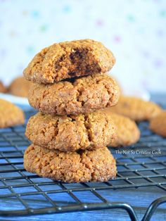 Graham Cracker Cookies - The Not So Creative Cook Graham Cracker Dessert, Graham Cracker Recipes, Graham Cracker Cookies, Graham Crackers, Carrots And Dates, Cookie Factory, Date Cake, Yummy Cookies, Cookie Recipes