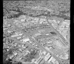 New Lynn, Auckland showing Delta Ave, Gt Nth Rd, and the railway line. Lynnmall at centre. Nz History, Auckland, What Is Like, New Zealand, City Photo, Centre, The Neighbourhood, Pictures, Photos