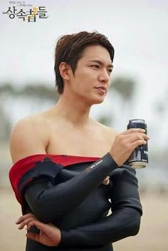 LMH FOR THE KDRAMA HEIRS. SHOOTING SCENES IN CALIFORNIA