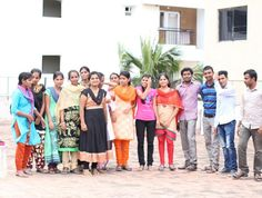 """Meet some of our workers from India. """"A nation's culture resides in the hearts and in the soul of its people"""" #mahatmagandhi  Some of them have moved to Bangalore from remote villages in India so they can do digital work from #samasource #giveworkwednesday #alleviatingpoverty"""