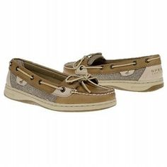 Sperry Top-Sider Angelfish Women's Boat Shoes Linen Oat All Sizes NIIB