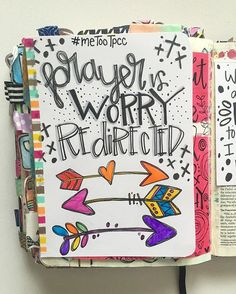 Bible Journaling by Trudy Barker @colorsoffaith   Philippians 4 …