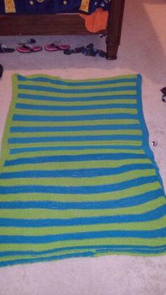 First blanket I've made