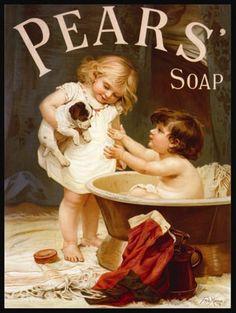 Anuncio de una marca de jabón estadounidense de 1870.