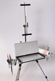 Eric Michaels En Plein Air Pro Water Color Easel Plein Air Easel, Oil Paint Set, Pochade Box, Art Easel, Paint Supplies, Painting Tools, Pencil Art, Art Studios, Painting Inspiration