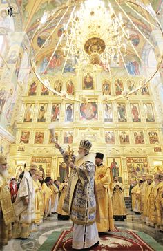 Patriarch Kirill of Moscow and All Russia consecrated the biggest in the Far East Orthodox church - Trinity Cathedral in Magadan.