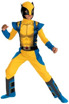 The most popular X-Men - Wolverine Costume for Kids.