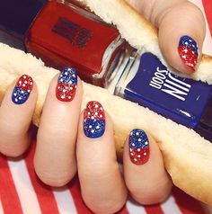 Festive Red, White, and Blues by JINsoon | #Sephora Beauty Board