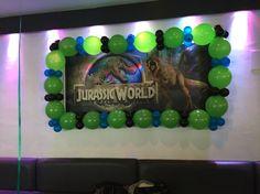 Jurassic party allestimento