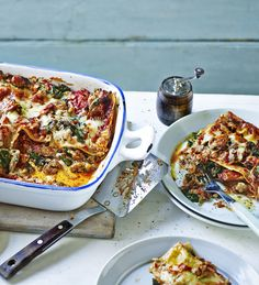 Mary Berry's express take on lasagne is super quick, perfect for a midweek meal
