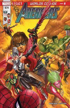 Avengers # 674 (W) Mark Waid (A) Jesus Sai