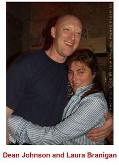 Laura Branigan 2002, with gay artist Dean Johnson.