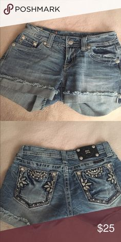 Miss Me Shorts Grab yourself a pair of Miss Me's without having to pay retail price! These are in excellent condition with no rips, stains, or holes. Smoke and pet free home. 🚫No trades Miss Me Shorts Jean Shorts