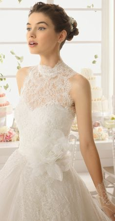 Aire Barcelona 2015 Bridal Collection | bellethemagazine.com