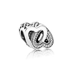 PANDORA | Entwined Love, Clear CZ