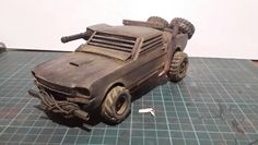 Self made Apocalyptic Mustang