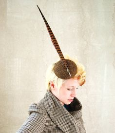the quill is mightier...as a hat