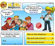Kids-WingTsun - Startseite mit PLZ-Suche