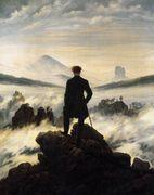 The Wanderer above the Mists 1817-18 - Caspar David Friedrich - www.caspardavidfriedrich.org
