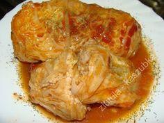 W Mojej Kuchni Lubię..: cielęco-ryżowe gołąbki we włoskiej kapuście...