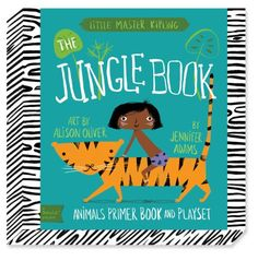 Jungle Book Playset, BabyLit: A BabyLit® Animals Primer Playset: Jennifer Adams, Alison Oliver: 9781423637462: Amazon.com: Books