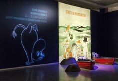 Moomins venture to Japan, photo byJari Kuusenaho/Tampere Art Museum