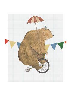 Circus bear print | Studio meez