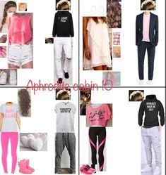 Aphrodite cabin 10 Percy Jackson Outfits, Percy Jackson Movie, Percy Jackson Fandom, Magnus Chase, Girly Outfits, Cute Outfits, Fashion Outfits, Aphrodite Cabin, Percy Jackson Cabins